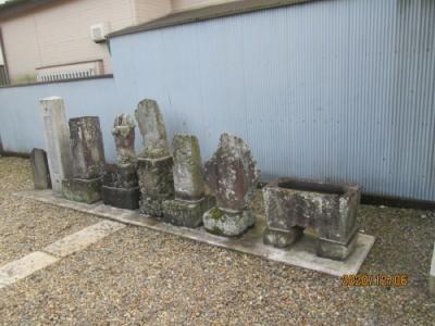 流山市の加・大杉神社・流山100か所めぐり(62)・石仏