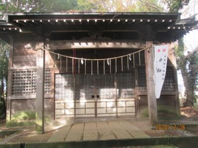 流山市の市野谷・天神社・流山100か所めぐり(53)・石仏