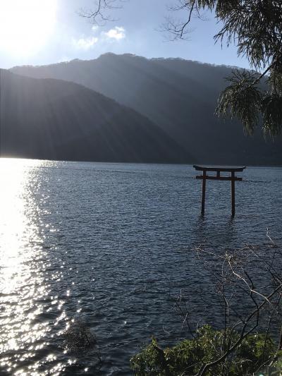 箱根 芦ノ湖へ