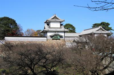 11年ぶり3回目の金沢城登城と近江町市場散策
