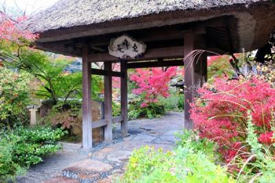 京都旅行2020Nov②すみや亀峰菴の露天風呂付客室