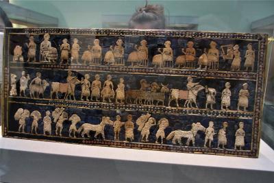 大英博物館(2013年)ー文字が発達したメソポタミア近辺ー