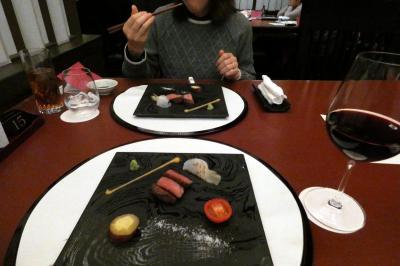 13.秋のエクシブ蓼科・軽井沢 各2泊 日本料理 花木鳥の夕食