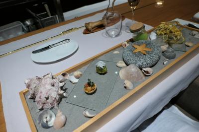 秋の伊豆旅♪ Vol.62 ☆湯ヶ島温泉「アルカナイズ」:3回目ディナーは海鮮フランス料理♪