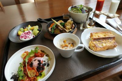 秋の伊豆旅♪ Vol.64 ☆湯ヶ島温泉「アルカナイズ」:「ザ・スイート」優雅な朝食♪