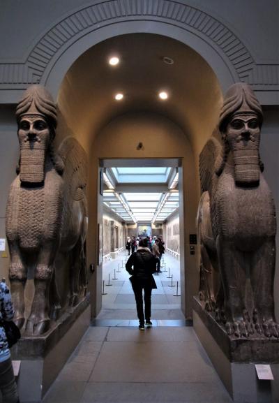 大英博物館(2013年)ーアッシリア帝国のNimrud-
