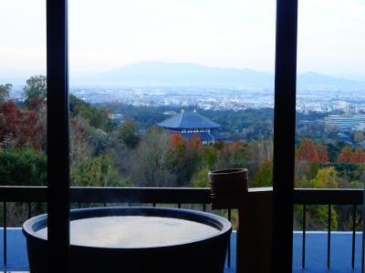 大人の修学旅行、奈良(ANDO HOTEL若草山)