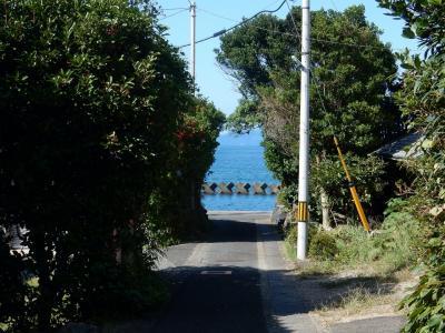 サイドカーの旅 瀬崎の日本海