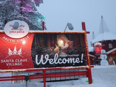 本気のクリスマス(サンタとクリマと聖地) その3 フィンランド ロヴァニエミ