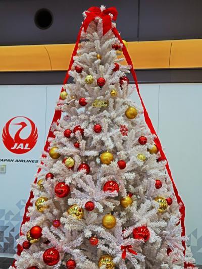 羽田空港 第1旅客ターミナル クリスマス-装飾され ☆ガリバーデッキ・彩鳳・見どころ点景