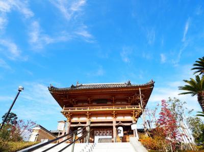 たくさん歩いて西国二十二番札所総持寺