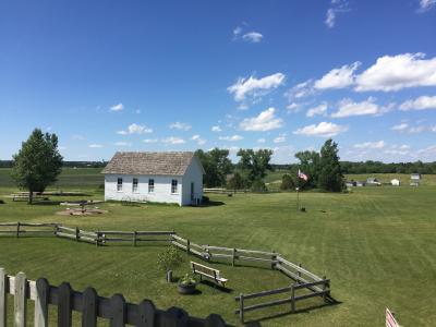 サウスダコタ州 デスメット ー 「大草原の小さな家」でやっと最後に手に入れた開拓農地