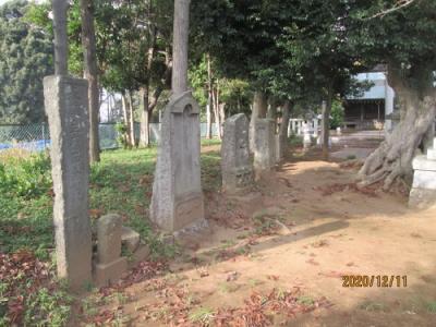 流山市の前ヶ崎・香取神社・流山100か所めぐり(99)・石仏