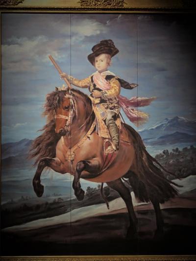 大塚国際美術館-8 『皇太子-騎馬像』『ラス・メニーナス』など ☆プラド美術館の至宝
