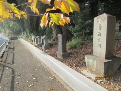 流山市の名都借・香取神社・流山100か所めぐり(94)・石仏