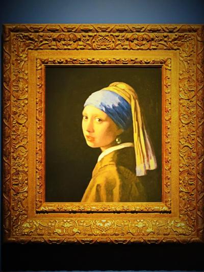 大塚国際美術館-9 『真珠の耳飾りの少女』『牛乳を注ぐ女』など ☆フェルメールの名作