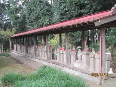 流山市の前ヶ崎・宝蔵院・流山100か所めぐり(98)・石仏