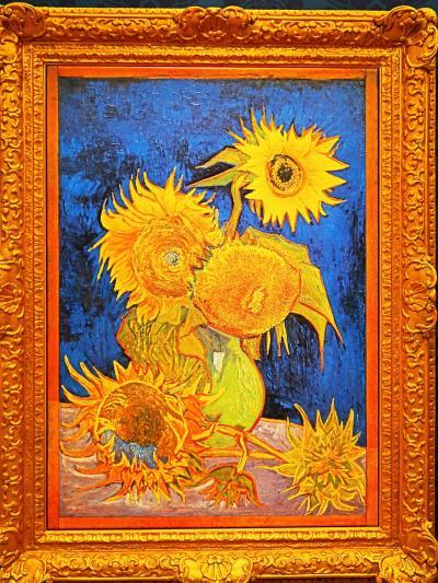 大塚国際美術館10 『花瓶のヒマワリ』全7点が一堂に ☆ユートピアの象徴/ゴッホの自画像