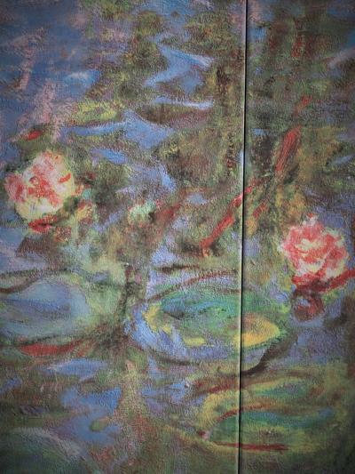 大塚国際美術館11 『大睡蓮』 クロード・モネ作 屋外-池-自然光で ☆大空間を一人占め