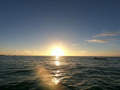 今年は特別な思いで宮古島へ。④~八重干瀬シュノーケルと17ENDサンセットSUP~
