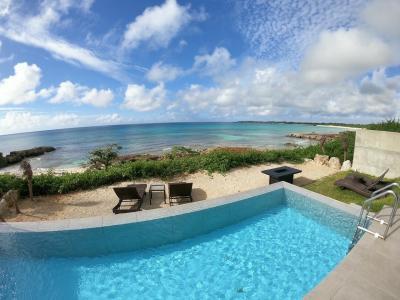 今年は特別な思いで宮古島へ。⑤最終記~渡口の浜を見渡せるインフィニティプールヴィラと紺碧ディナー~