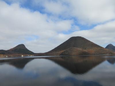 榛名山が湖面に映える群馬県から埼玉県本庄へ