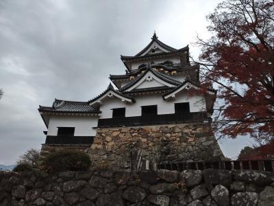 2020年12月サイクリングで琵琶湖と彦根城