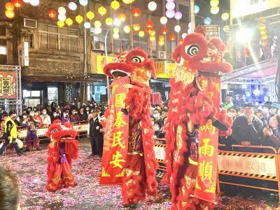 艋舺青山王祭 正日遶境