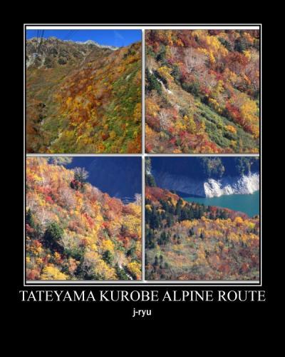 ◆Go To Travel~錦秋の立山黒部アルペンルート ~立山ロープウェイ&大観峰編