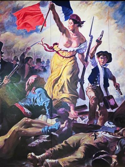 大塚国際美術館13 『民衆を導く自由の女神』-近代- ☆ドラクロア・アングル・コロー