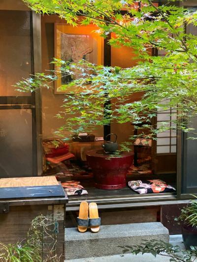 """雅の世界に心遊ばせて""""京都""""一人時々二人旅 Vol.4 趣ある京町家泊&4トラ友まやこと最終日も満喫♪"""