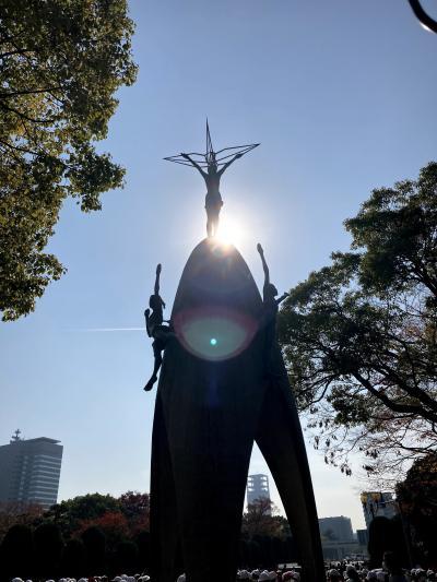 母と二人旅 その1☆広島平和記念公園編