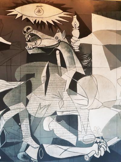 大塚国際美術館17 ピカソ『ゲルニカ』-現代- 記念碑的絵画 ☆GARDEN*うずしお海鮮丼