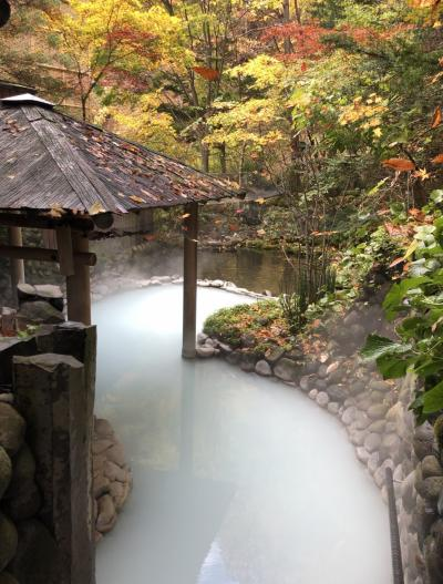 週末のんびりステイ@紅葉の登別温泉滝乃家