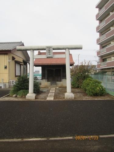 流山市の前平井・八坂神社・再開発移転