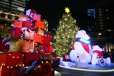 香港★尖沙咀でステイケーション2 すっかりクリスマスモードの1881ヘリテイジ