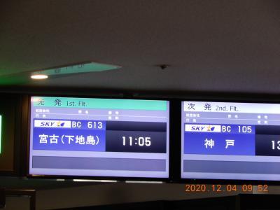 ホテル・シギラミラージュ(沖縄県宮古島)・・・・人生初めての国内線はLCC。