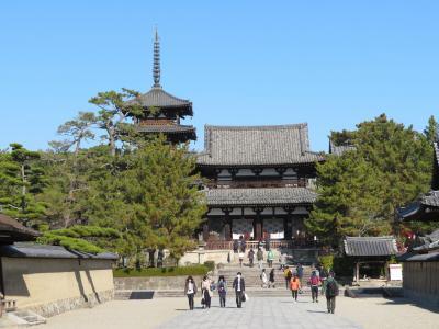 心の安らぎ旅行 (2020年12月 Mein Geburtstag Part3 法隆寺の金堂と五重塔へ♪)