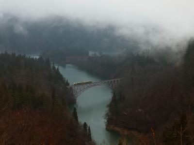 冬の青春18きっぷ*只見線で温泉と絶景