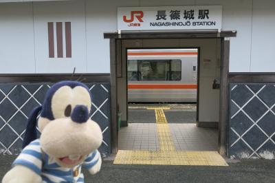 グーちゃん、忘年合宿で湯谷温泉へ行く!(長篠城跡/アソコがボウボウ男登場!編)