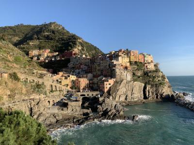 イタリアの小さな街めぐり③ チンクエテッレ