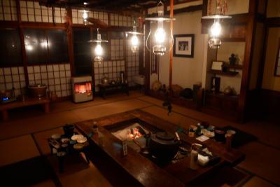 GOTO東北へ、津軽に行こう!ランプの宿青荷温泉マジっ?一泊二食付565円ですいません編