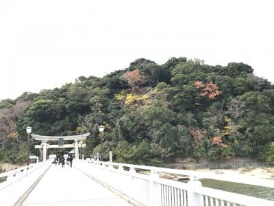 蒲郡クラシックホテルから竹島へ