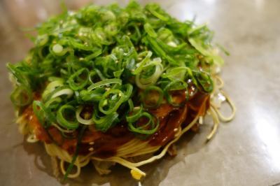 20201216-3 広島 宿でもらった¥2500のお食事券でお好み焼き、だんだん。