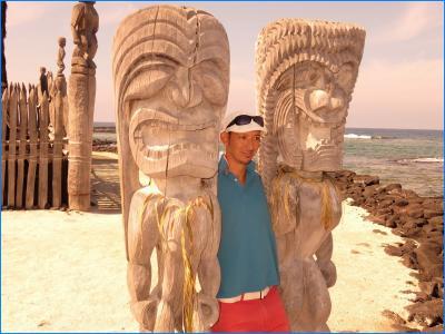 ハワイ19日間(12)ホナウナウ歴史公園&コナコーヒー農園&サムチョイズ&カイルアコナのお散歩