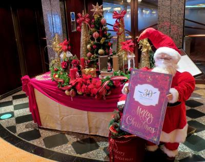 飛鳥Ⅱ 神戸クリスマス2020: 待望のクルーズ船の運航再開!まずは手始めにそろりとワンナイトで。