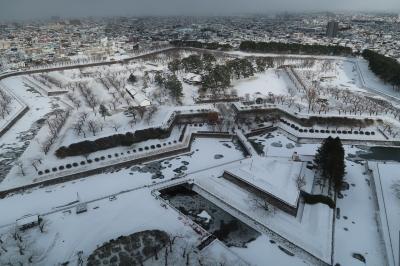 小さな温泉宿に泊まる冬の函館旅 前編