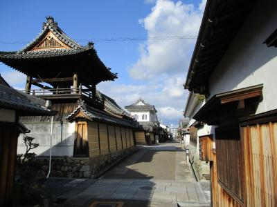 古い建物が残る富田林寺内町を気ままにぶらり旅