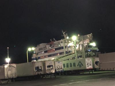 2020年12月四国鉄道旅行1(ジャンボフェリーで高松へ)