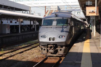 特急きりしまのグリーン車で鹿児島から宮崎へ。2020年ラストの鉄旅。